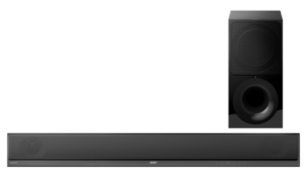 Soundbar Sony HT-CT800 2.1 z Wi-Fi® i Bluetooth®